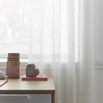 Sprinkles Sheer Curtain