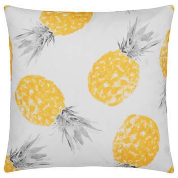 """Coussin décoratif déperlant ananas 18"""" X 18"""""""