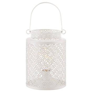 Metal Lantern LED Table Lamp