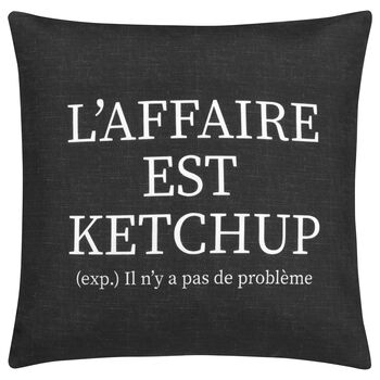 "Ketchup Decorative Pillow Cover 18"" X 18"""