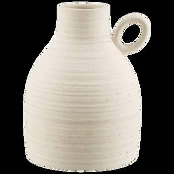 Vase de table en céramique avec poignée