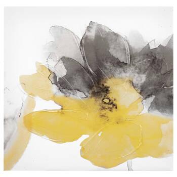 Flower Printed Canvas with Gel Embellishments II | Bouclair.com