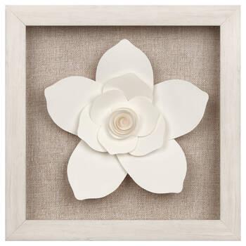 Framed Paper Flower
