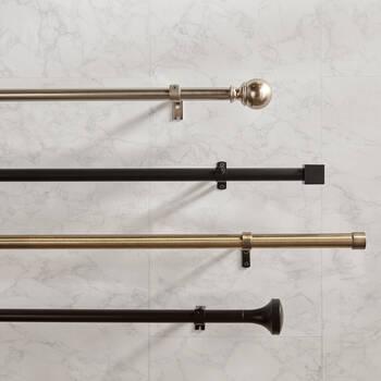 Curtain Rod Set - Diameter 19 mm