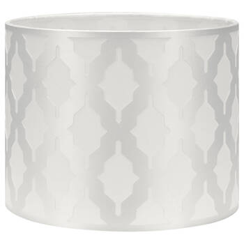 Satin Shade with Cut-Out Details