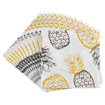 Set of 20 Pineapple Table Napkins