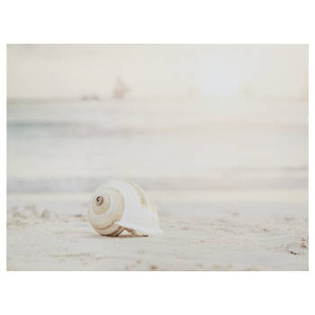 Sandy Beach Printed Canvas