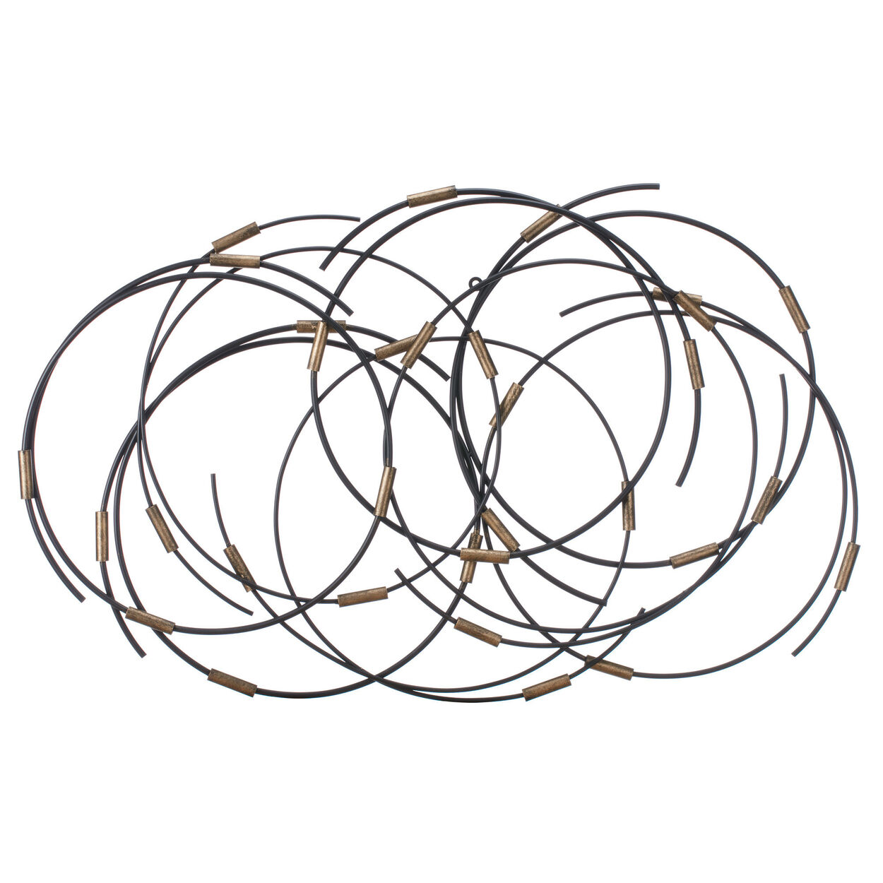 Metal Rings Wall Art
