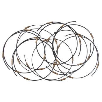 Metal Rings Wall Art
