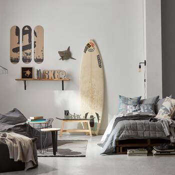 Set of 3 Skateboards Wall Art