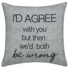 "Agree Decorative Pillow Cover 18"" X 18"""