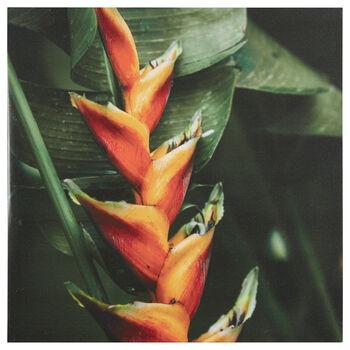 Tropical Flora Printed Canvas
