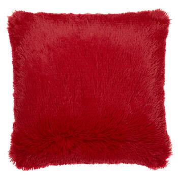 """Furry Decorative Pillow 17"""" X 17"""""""