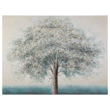 Blue Tree Oil Painting