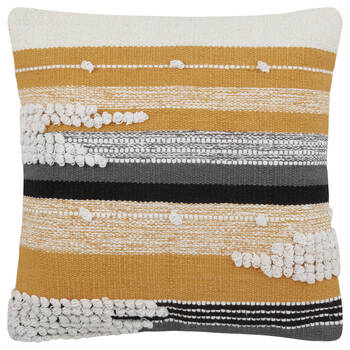 "Josie Decorative Jacquar Pillow 19"" x 19"""