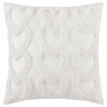 "Hearts Madalyn Decorative Pillow 20"" x 20"""