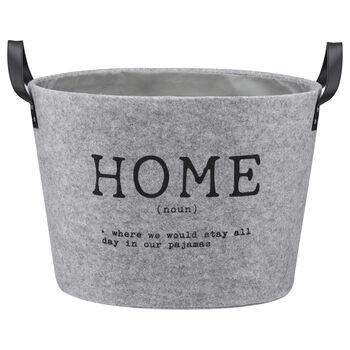 Large Home Felt Basket