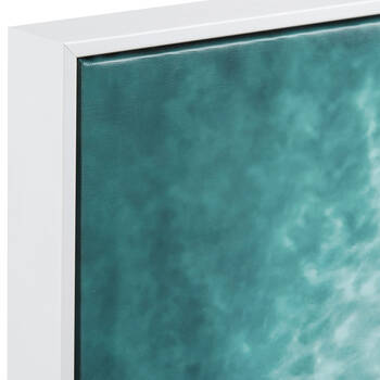 Surfers Aerial View Framed Art