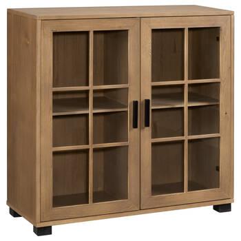Two-Door Wood Cabinet
