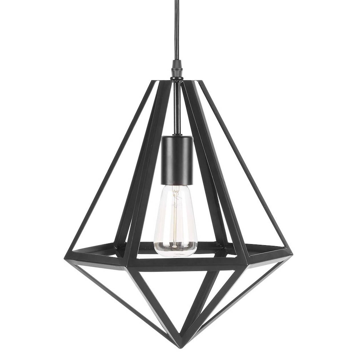 Metal Diamond Ceiling Lamp