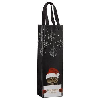 Fa La La Cat Wine Bag
