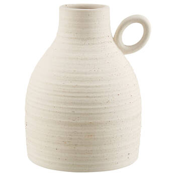 Ceramic Table Vase with Handle