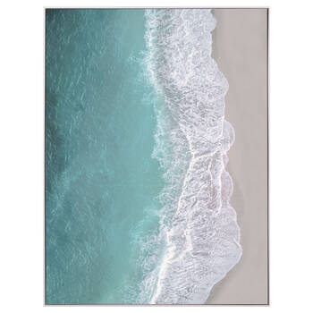 Ocean Wave Framed Art