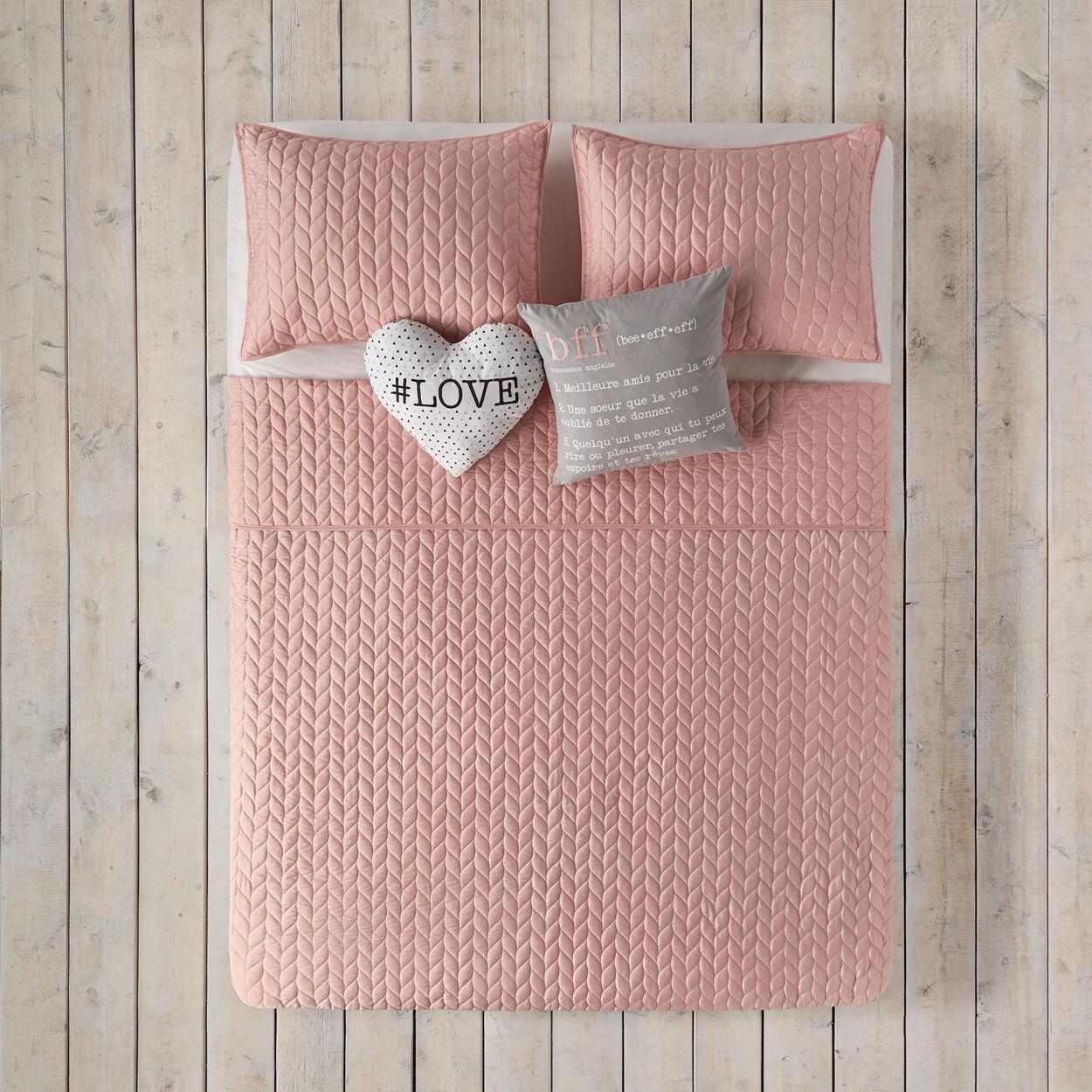 Collection Knit Ensemble De Couvre Lit Bouclair Com