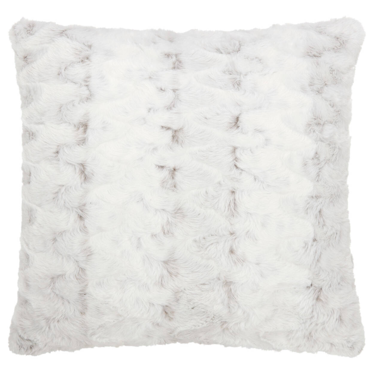 """Hare Faux Fur Decorative Pillow 20"""" X 20"""""""
