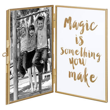 Metal and Glass Magic Picture Frame