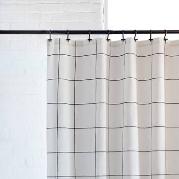 Pôle à rideau de douche