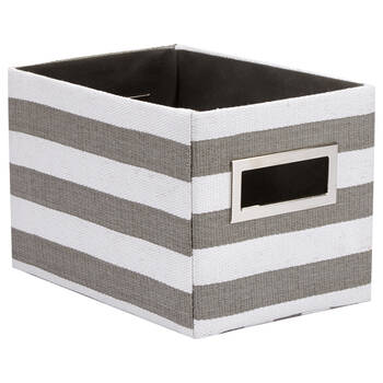 Striped Storage Basket