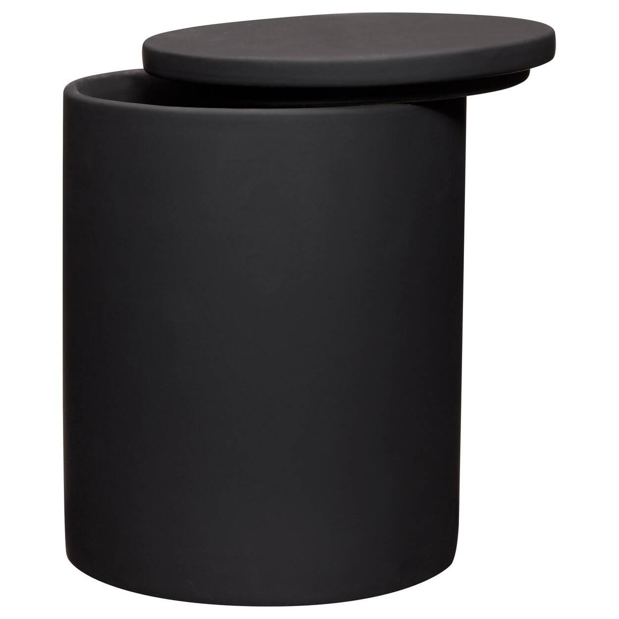 Pot décoratif avec fini en caoutchouc