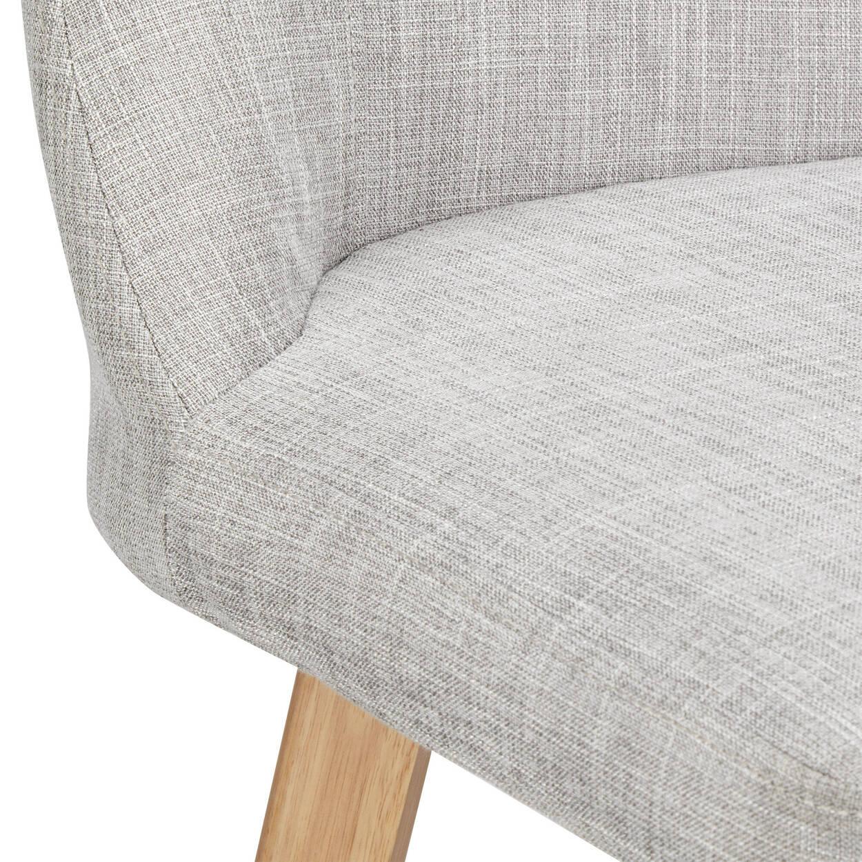 Chita Fabric and Wood Bar Stool