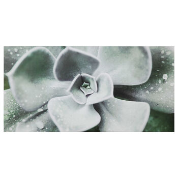 Green Agave Printed Canvas