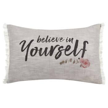 """Beaut Decorative Lumbar Pillow 13"""" X 20"""""""