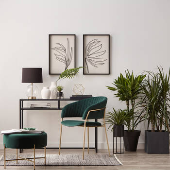 Tropical Plant on Stand