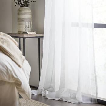 Birmingham Striped Sheer Curtain