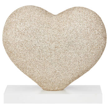 Decorative Glitter Heart