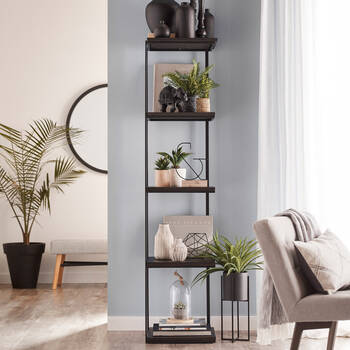 Metal and Wood Shelf