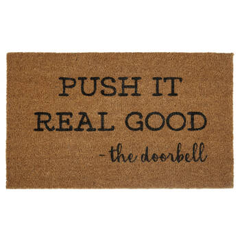 Push It Doormat