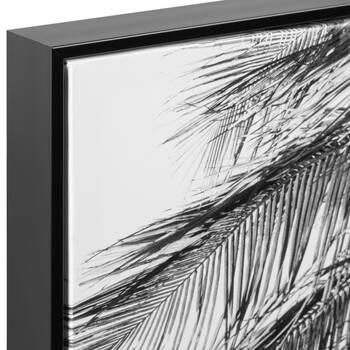 Palm Tree In Motion Framed Art