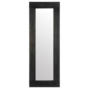 Dark Wood Frame Mirror