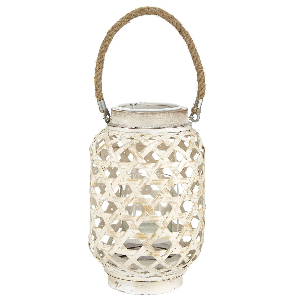 Wood and Rope Lantern