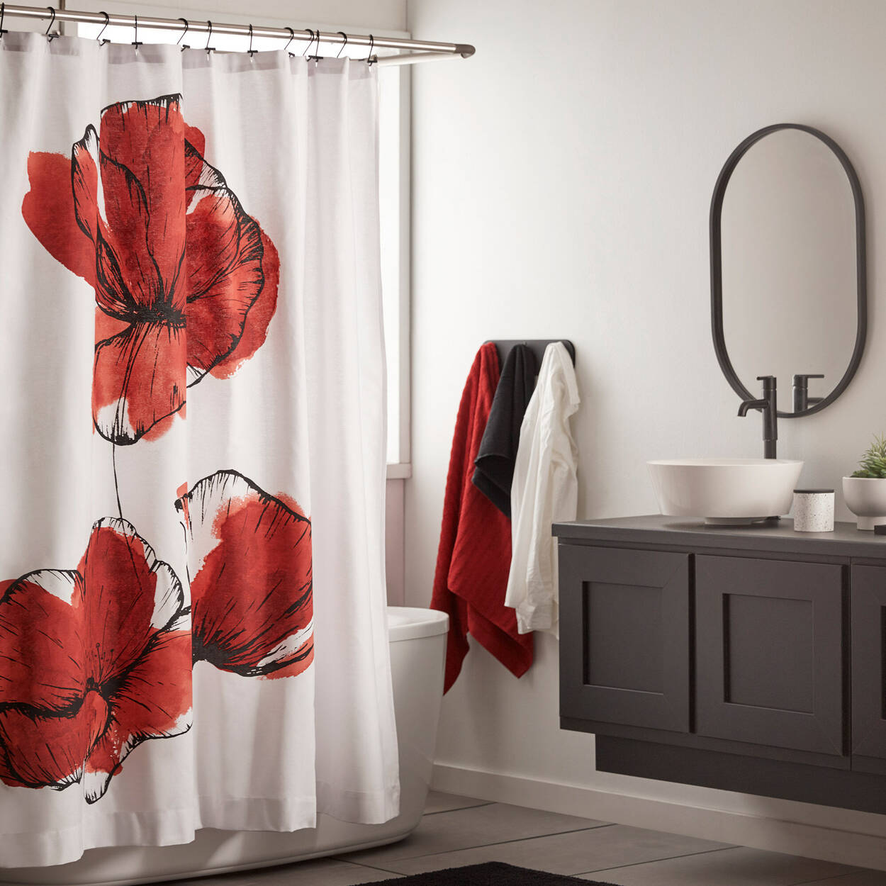 Flower Shower Curtain