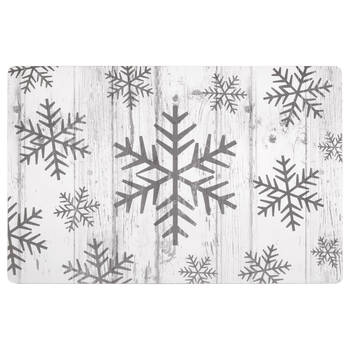 Rustic Snowflakes Placemat