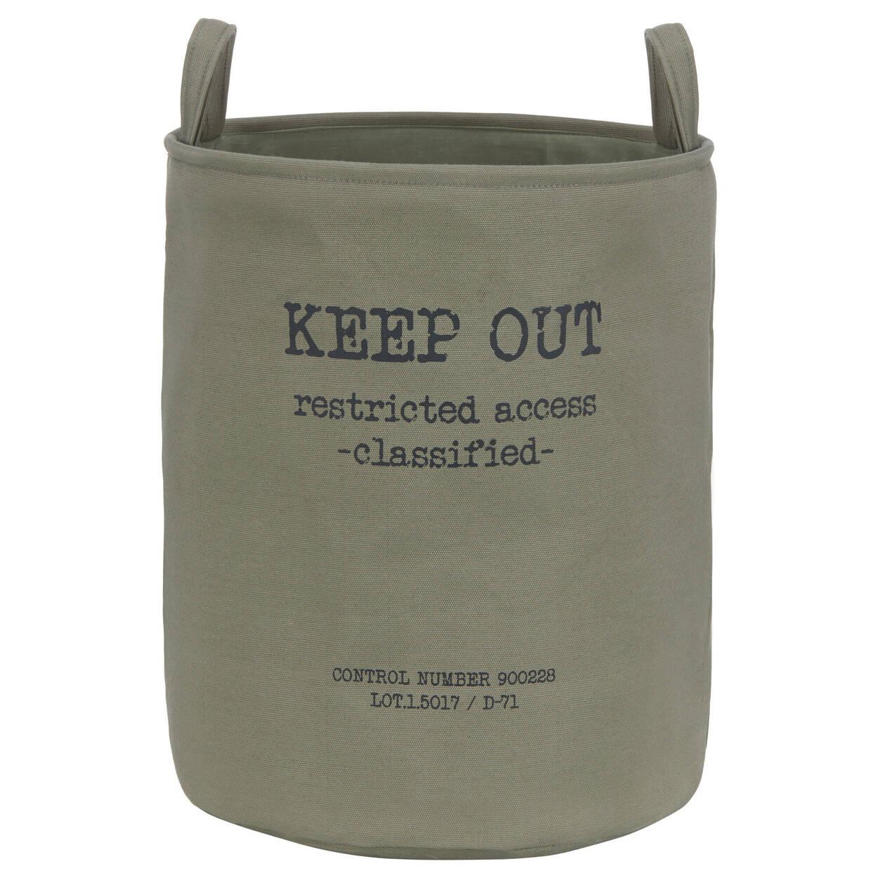 Keep Out Hamper