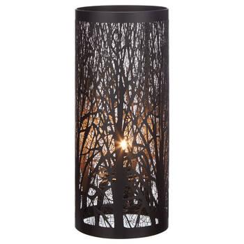 Black Metal Table Lamp