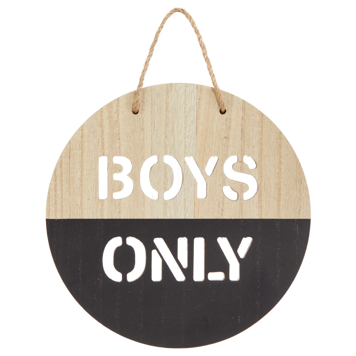 Boys Only Wall Art