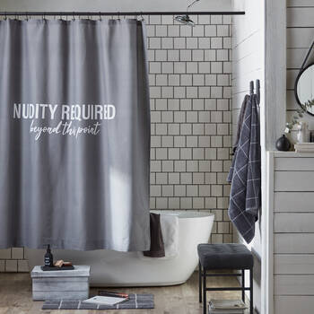 Nudity Required Shower Curtain
